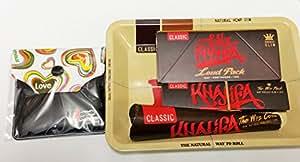 Wiz Khalifa fumar Mini Deal -- Raw Conocedor de bandeja de Mini,, cono, Loud Pack, bolsillo Cenicero