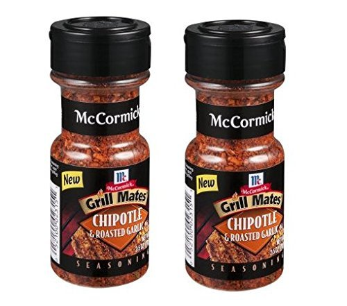 McCormick Grill Mates Chipotle & Roasted Garlic Seasoning, 2.5 OZ (Pack - 2) by McCormick (Image #1)
