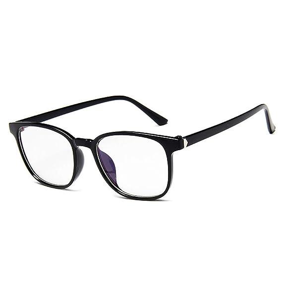 cb0fcd60bb Gafas para protección contra Luz Azul, Retro glasses vogue Marco de gafas  unisex para Computadora