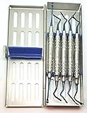 Vista Tunneling Kit in steel cassette (5 pcs, Blue plasma coating) BY Wise Linkers