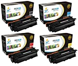 Catch Supplies 647A / 648A 4-Pack Premium CE260A CE261A CE262A CE263A Replacement Toner Cartridge Compatible with HP Color LaserJet CP4520 CP4025 CP4525 Laser Printers |Black, Cyan, Magenta, Yellow|