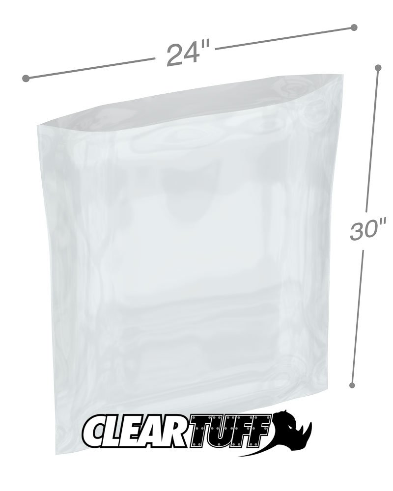 """100 Pcs Each 4/"""" x 4/"""" 4 Mil Industrial Poly Bags .004 flat Clear Bag Lot Of 4"""