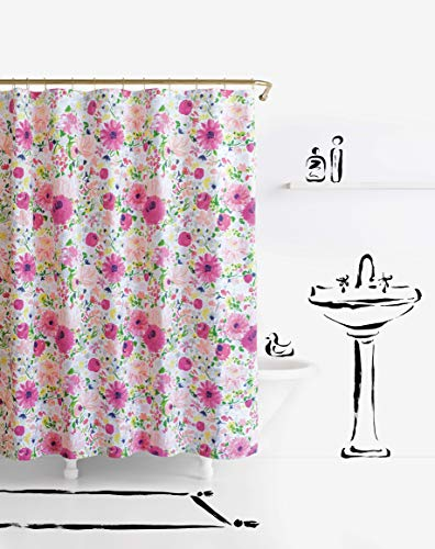 Kate Spade New York Dahlias Shower Curtain, 72