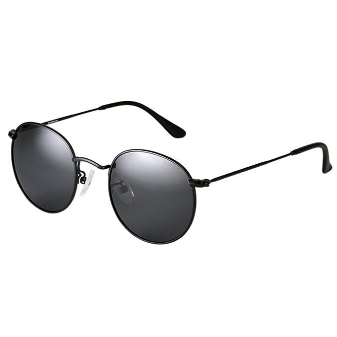 Gafas de sol de los hombres/gafas de sol redondas/gafas ...