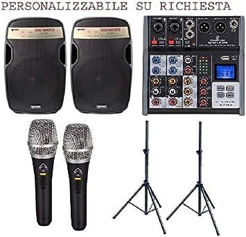 822 Pack – Sistema de audio completo para DJ - Pub, discobar ...