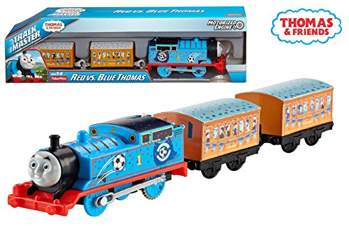 Thomas and Friends - TrackMaster Blue Team Thomas Motorized Engine - Relive the Excitement of the Thomas and Friends Episode