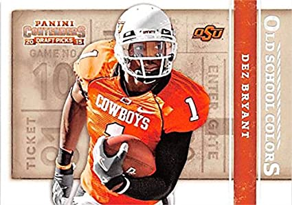 Dez Bryant Football Card University Of Oklahoma State