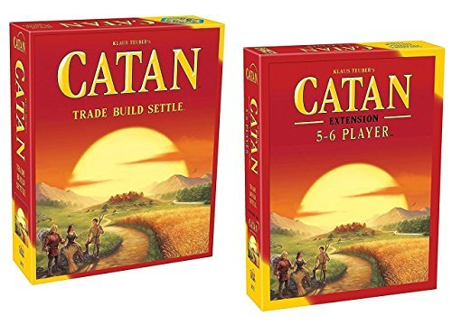 Game Expansion Board 6 Player (Catan 5th Edition with 5-6 Player Extension)