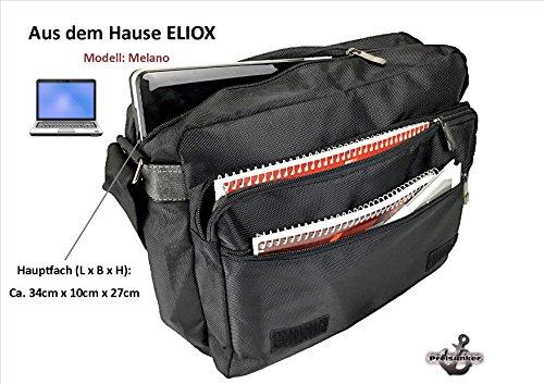 ELIOX Borsa Messenger, nero (Nero) - TEXS3132