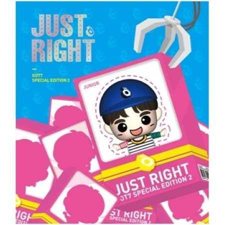 GOT7 [Jr] - JUST RIGHT Special Edition 2 (Figure USB) by JYP Entertainment