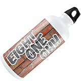 Water Bottle 810 Flint, MI brick 20oz / 600ML