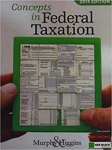 Concepts in federal taxation 2014 professional edition with hr concepts in federal taxation 2014 professional edition with hr block at home tax preparation software cd rom 21st edition fandeluxe Gallery