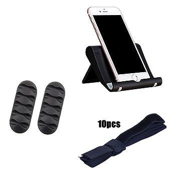 Pack mesa soporte teléfono Smartphone 2 tarjetero organizador ...