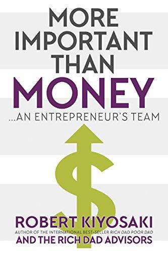 More Important Than Money: an Entrepreneur's Team cover
