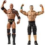 WWE Wrestlemania The Rock and John Cena Figure 2-Pack