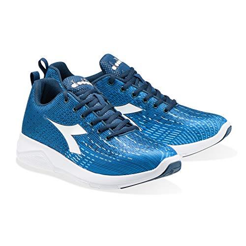 Blue Per X Uomo Scarpa Run white 2 C5237 Light Running Da Diadora AOvqcBw0t
