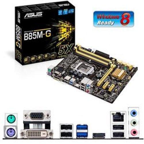ASUS Micro ATX DDR3 1600 LGA 1150 Motherboard B85M-G