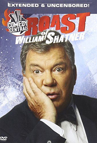 DVD : Comedy Central Roast of William Shatner Uncensored! (Full Frame, Dolby, Uncensored)