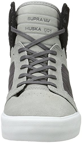Supra Skytop Medium Sneaker Gray Gradient - Weiß