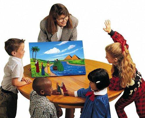 Small Deluxe Flannel Board Felt Bible Story Set in English by Betty Lukens