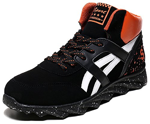 Fashion Sneakers Orange Hanxue Sport Mens Shoes Running zIqA17H