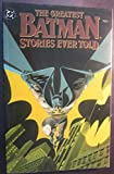 img - for Greatest Batman Stories Ever Told - Vol 2 , (1988) book / textbook / text book