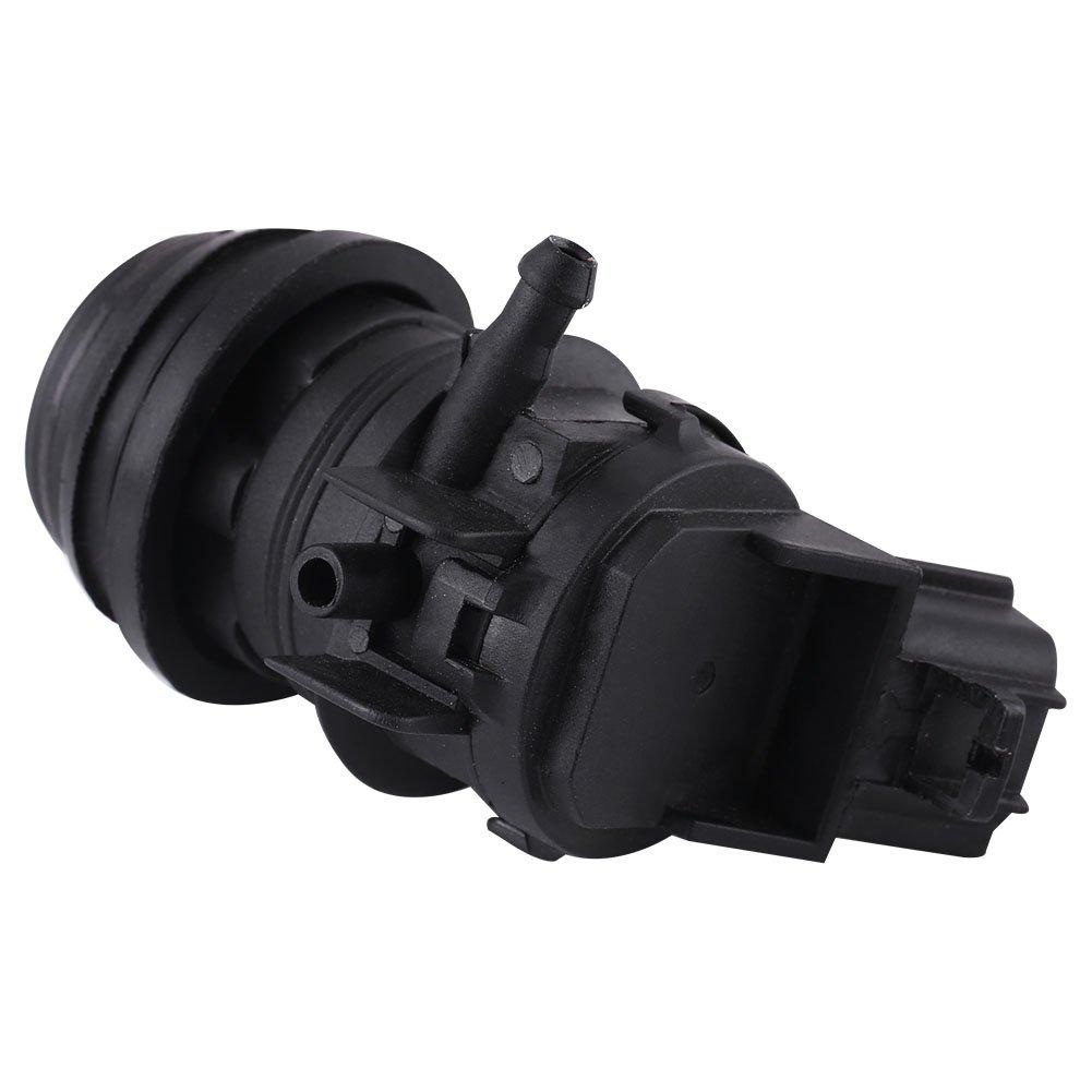 Hlyjoon 85330-21010 Pompa lavavetri anteriore per auto Anteriore posteriore Tergicristallo Pompa motore per 2003-2014