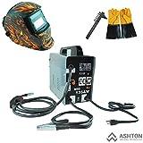 MIG Welder - Commercial 115v Mig 130 135 Amp Automatic Feed Flux Core Gasless Welder Mig-135aw Helmet AWT-FG4 Kit