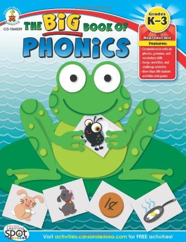 The Big Book of Phonics, Grades K - 3 pdf epub