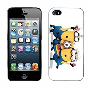 Despicable Me Minions Film Case Fits Iphone 5 Cover Hard Protective Skin 4 for Apple I Phone