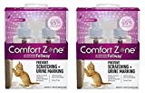 Comfort Zone 4-Pack with Feliway for Catridge 1.62 fl. oz., Refills
