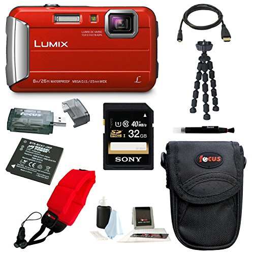 Panasonic DMC TS30 Digital Camera Premium
