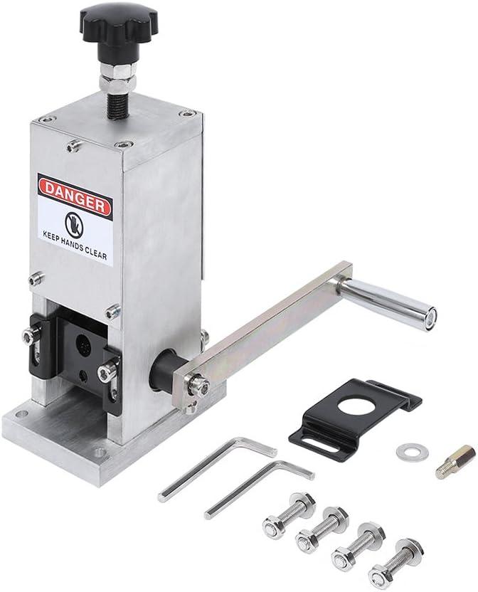 Yosoo Máquina de Pelado de Cables, Pelador Manual de Cable Herramienta de Reciclaje de Metal