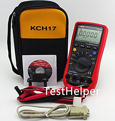 TestHelper UNI-T UT61E With Soft Case KCH17 AC/DC Modern Digital Auto Ranging Multimeters Multitester True RMS
