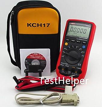 TestHelper UNI-T UT61E With Soft Case KCH17 AC DC Modern Digital Auto Ranging Multimeters Multitester True RMS