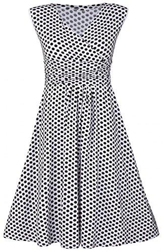 Gathered Jersey Dress - 7