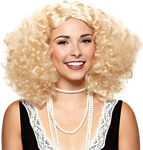 WIG EMBRACE THE FRIZZ BLONDE -