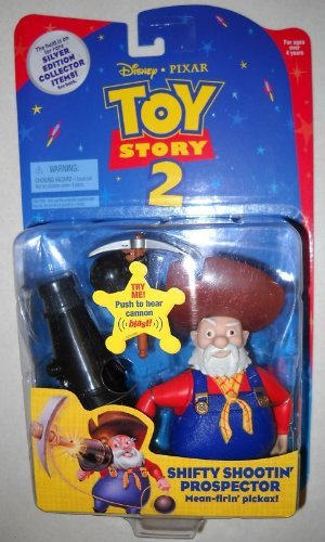 Disney / Pixar Toy Story Stinky Pete Shifty Shootin' Shooting Prospector Black Cannon Mean Firin' Pickax!