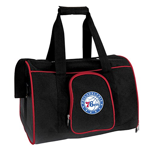Denco NBA Philadelphia 76ers Premium Pet Carrier