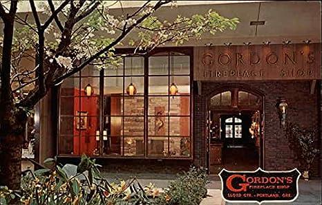 Gordon's Fireplace Shop Portland, Oregon Original Vintage Postcard ...