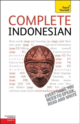Complete Indonesian: A Teach Yourself Guide