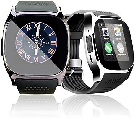 d25f5bbe7fba 1.54   Bluetooth Smart Watch Reloj Inteligente Teléfono Inteligente  Pantalla Táctil con ranura para tarjeta SIM  sedentario  Recordatorio Pedómetro Android ...