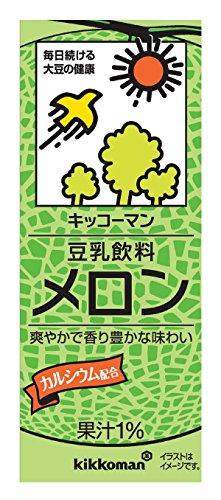 Kibun soy milk drink melon 200mlX18 this by Kikkoman
