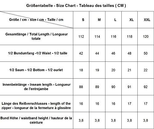 beste Turnschuhe hochwertige Materialien auf Lager PERANO MLP010 Herren Leinen Hose Slim Fit Farbe Schwarz Konfektionsgröße 52  Internationale Größe L schwarz 52/L.