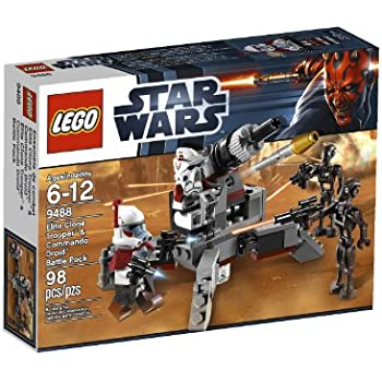 LEGO Star Wars Elite Clone Trooper and Commando Droid B 9488 (Discontinued by manufacturer)
