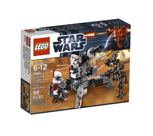 LEGO Star Wars Elite Clone Trooper and Commando Droid B 9488 (Discontinued by manufacturer) (Trooper Lego Rex Clone)