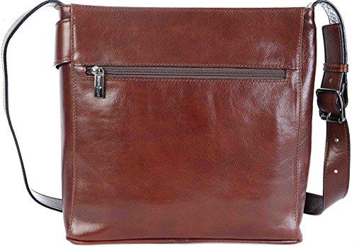 Large Conti Gianni Leather Shoulder Handbag 9403444 Fine Hobo Brown Italian 44RHdr5qAw