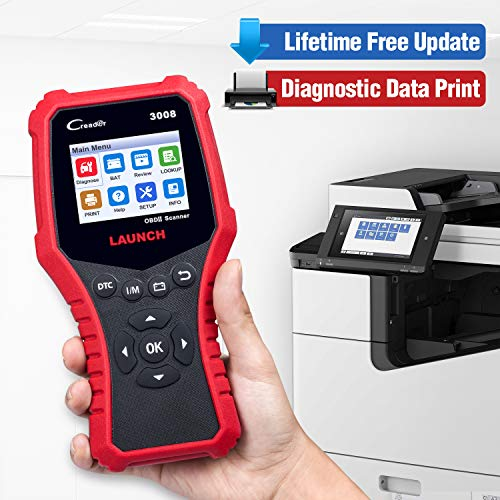 LAUNCH CRP3008 Creader 3008 Professional OBD2 Scanner Enhanced OBDII EOBD Code Reader, One-Key Check Engine Light I/M Readiness O2 Sensor Systems Battery Test Diagnostic Scan Tool-Free Update by LAUNCH (Image #8)