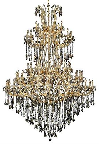 Karla Gold Traditional 85-Light Grand Chandelier Swarovski Elements Crystal in Golden Teak -2381G96G-GT-SS--8