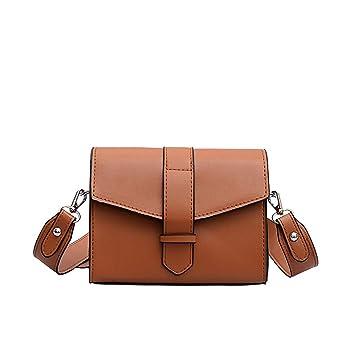 5a8688db7c57 Amazon.com : ❤️Sunbona Retro Messenger Bag for Women Crossbody ...